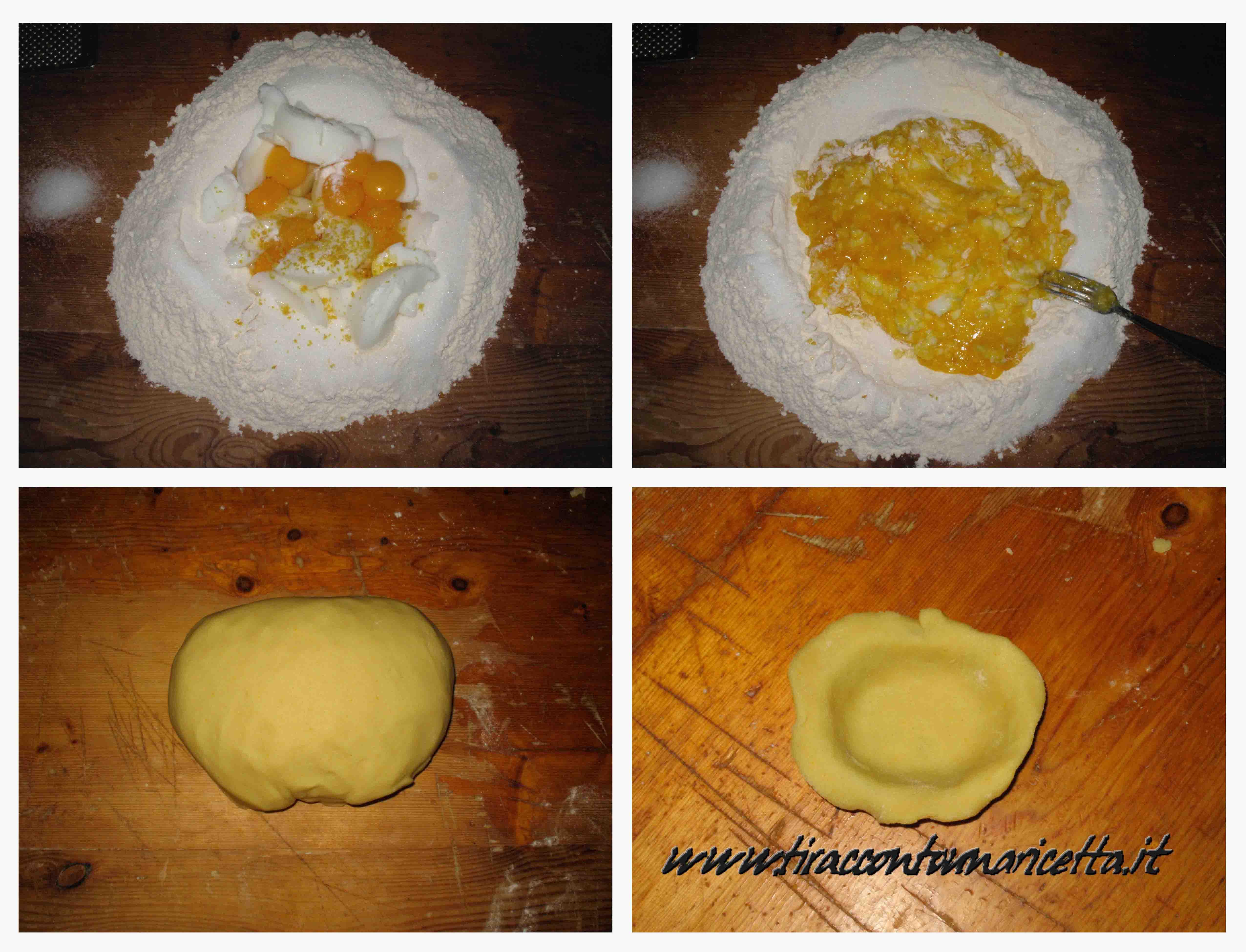 Pasta frolla ricetta con strutto