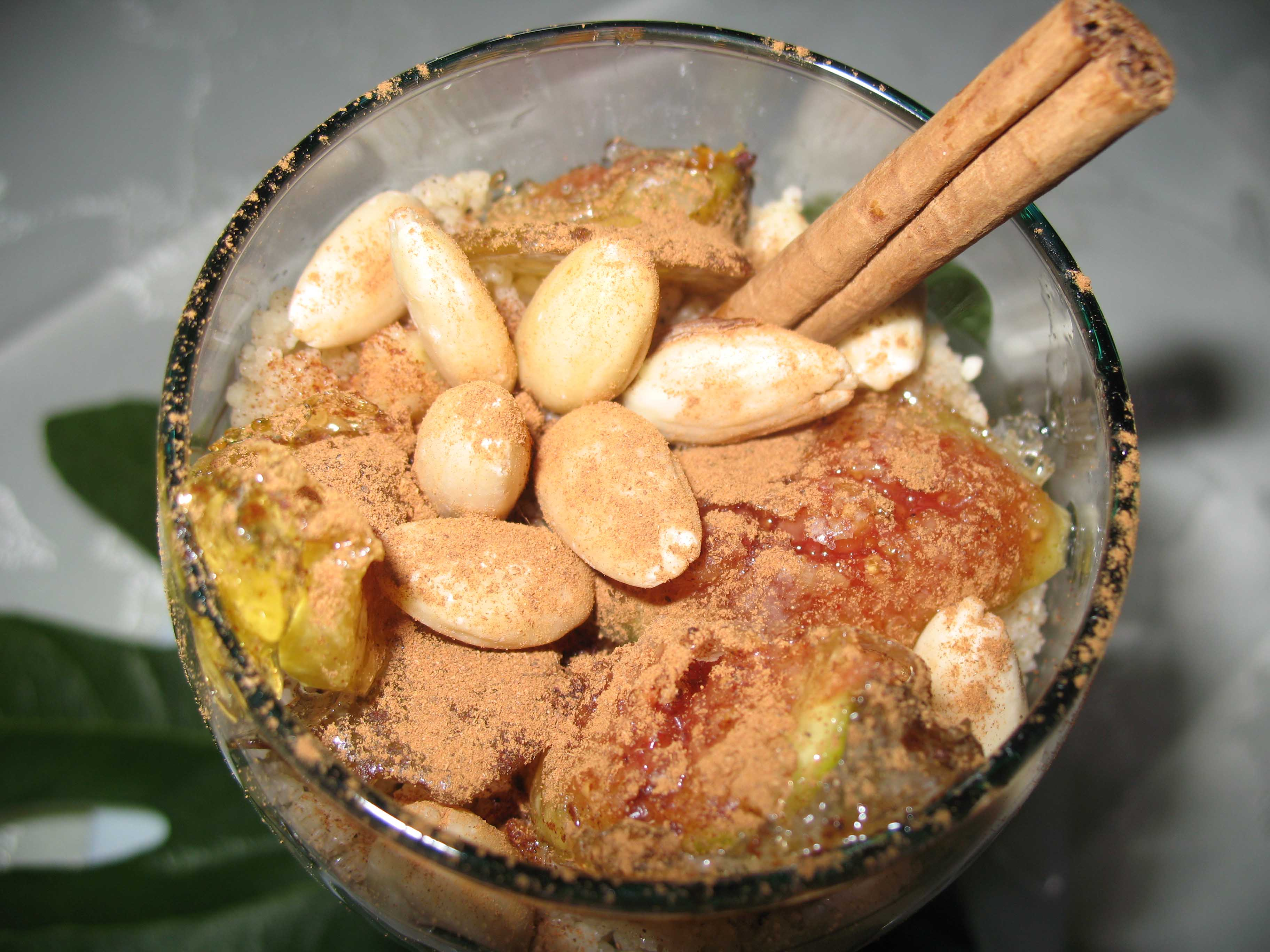Sweet Couscous with figs of September