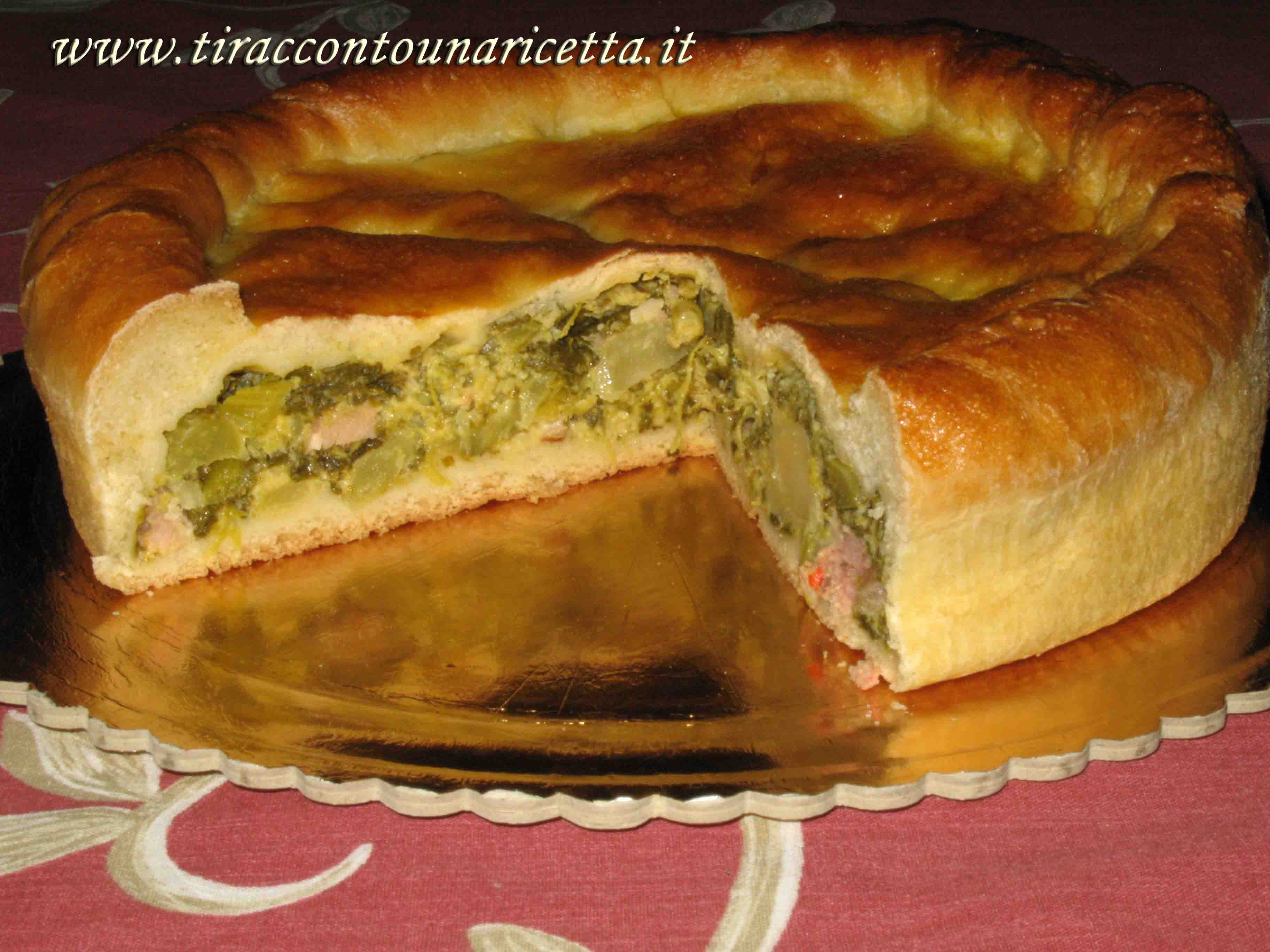 Ricette torta rustica broccoli e salsiccia