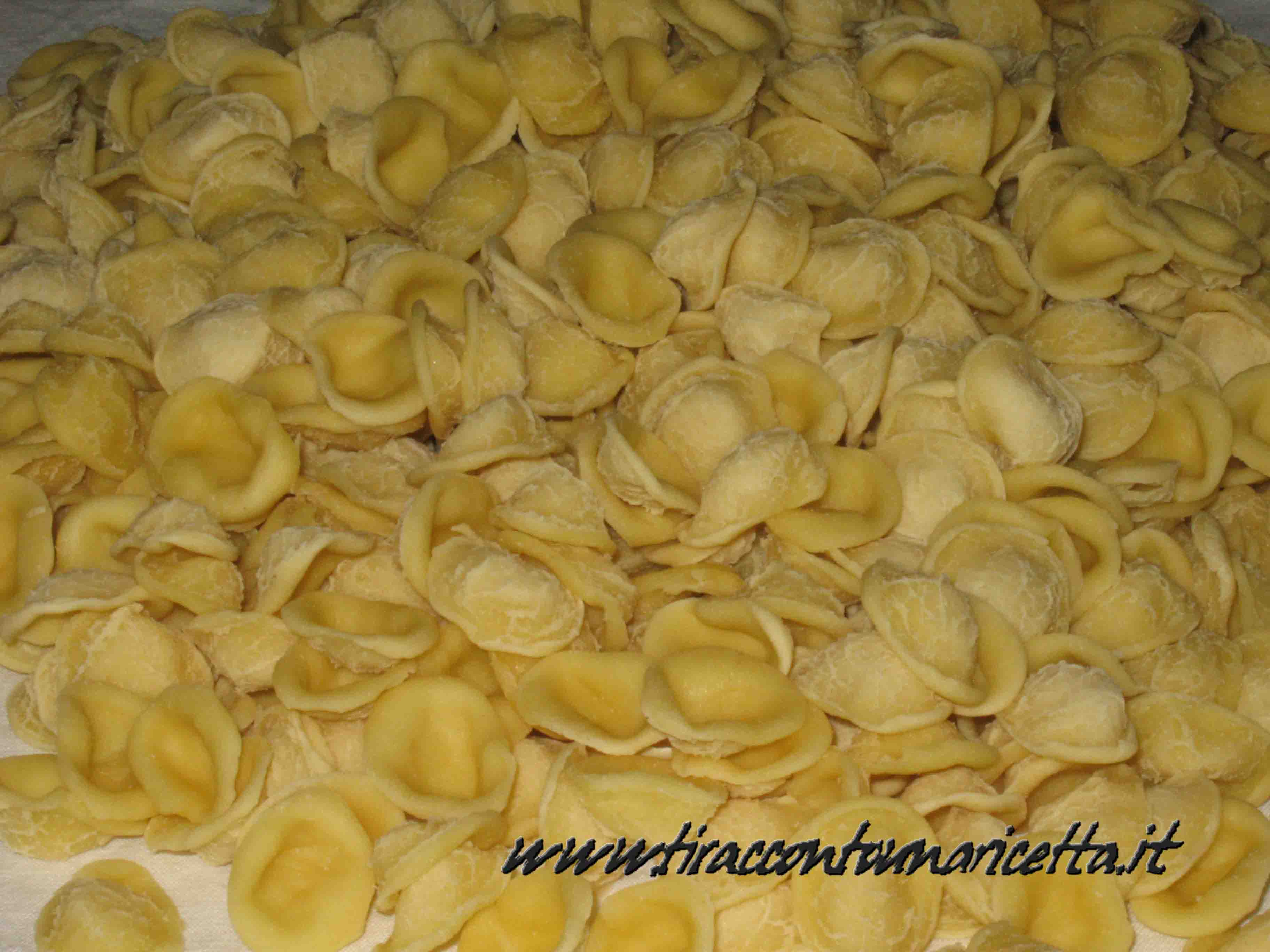 Orecchiette (little ears)  from Puglia