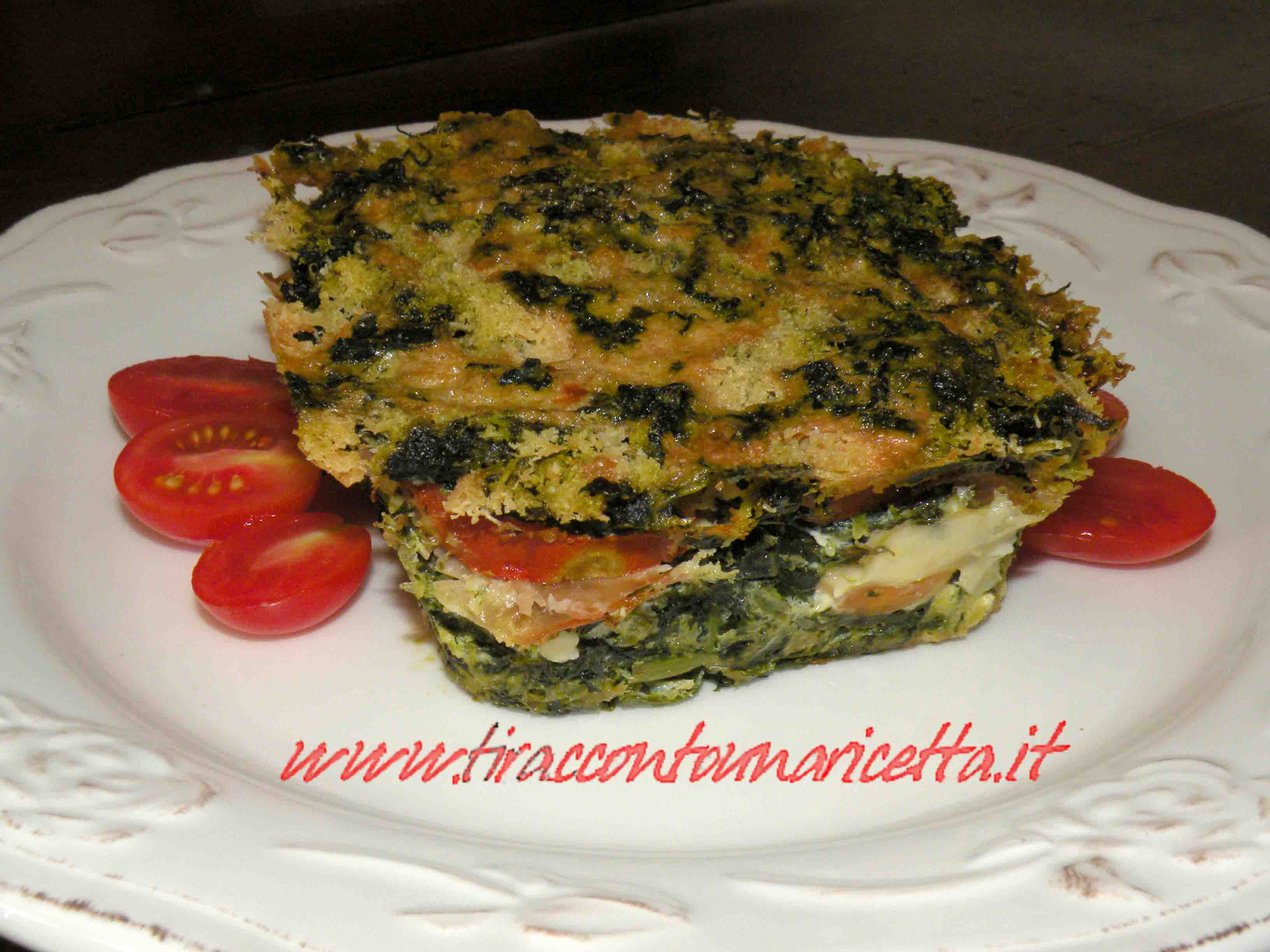 Timbale of chicory