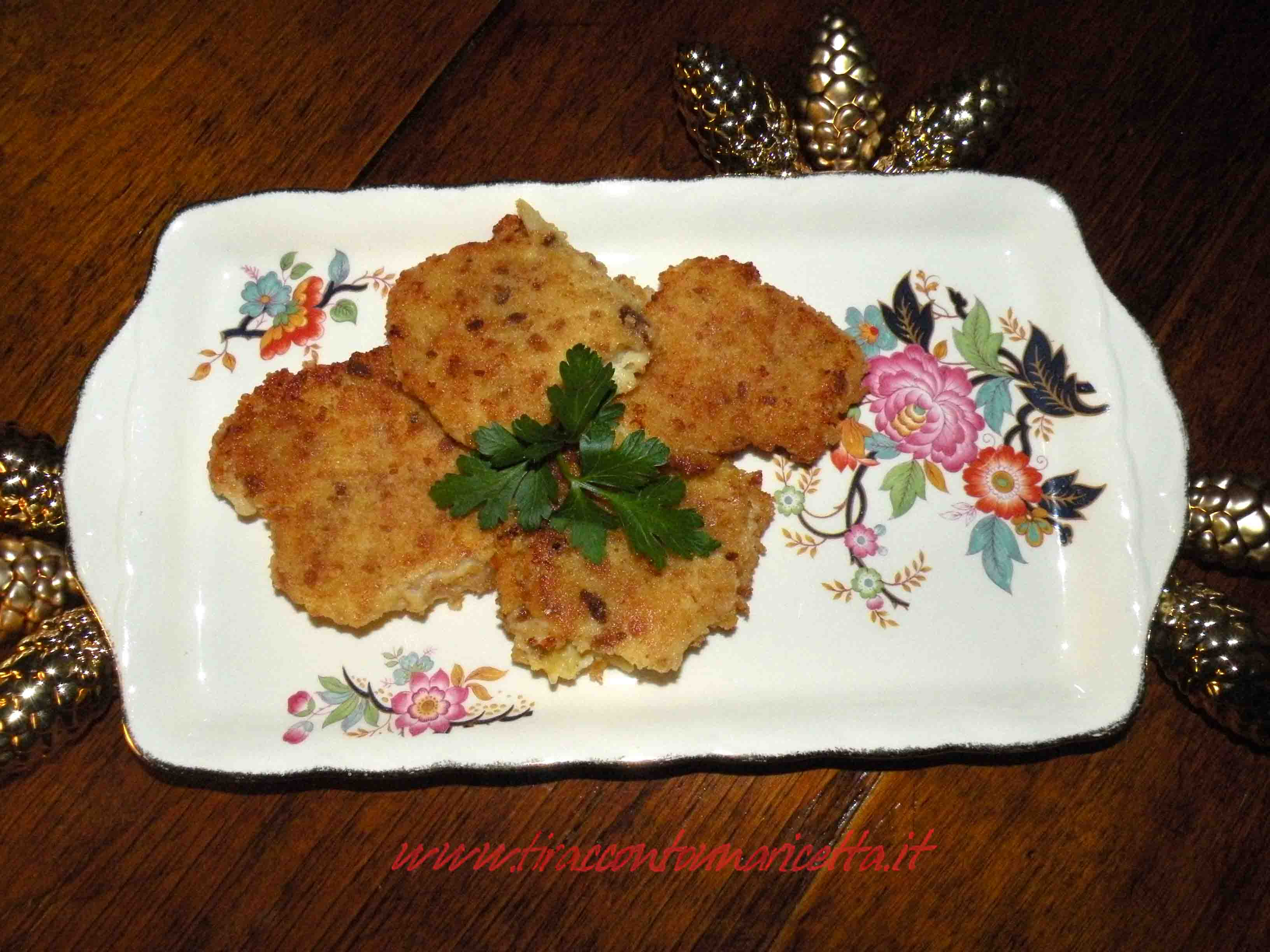 Fried codfish alla Milanese