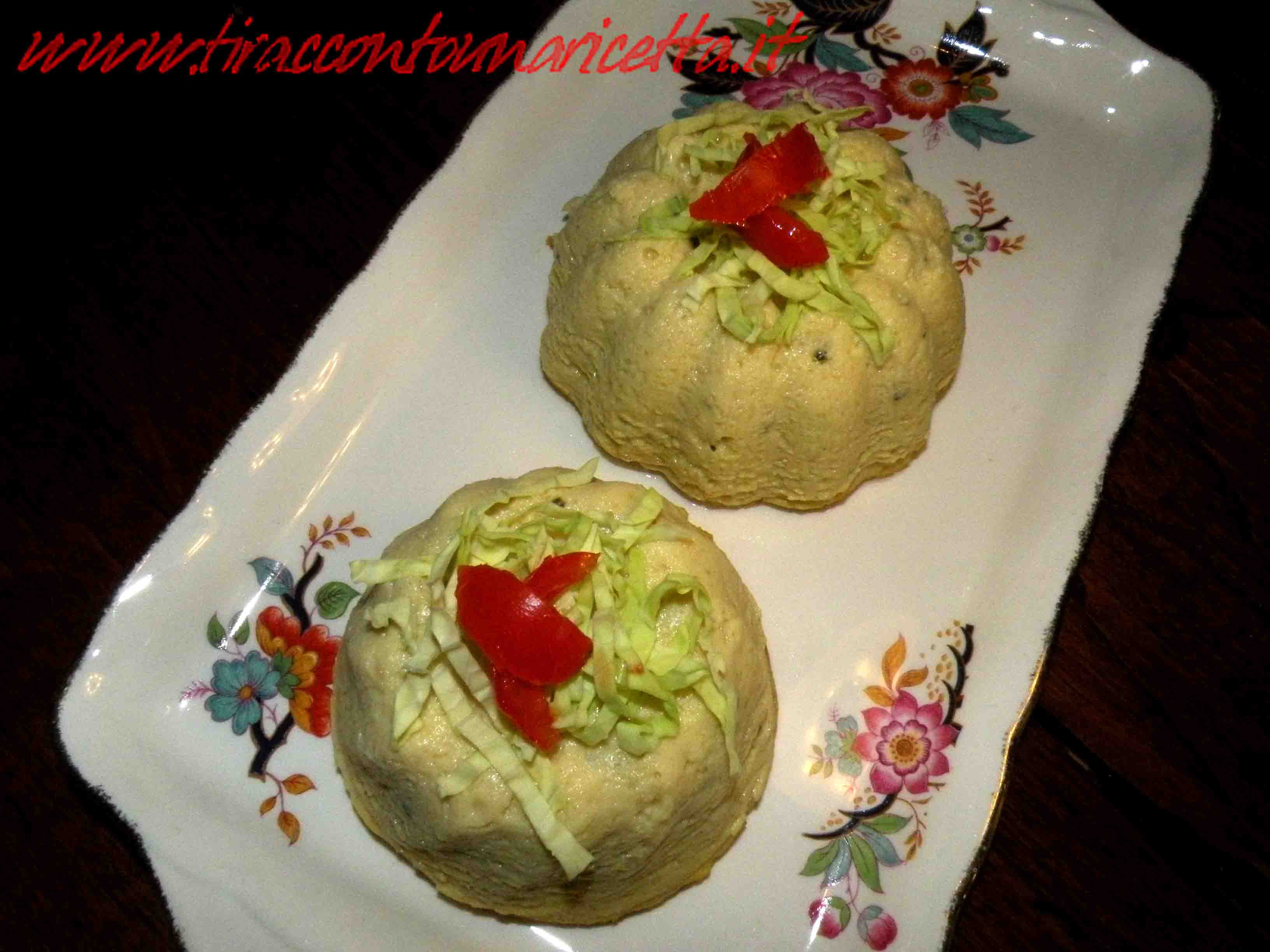 Cabbage Timbale